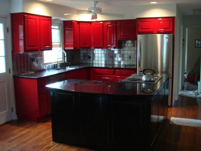 Painted kitchen cabinets_400x300pix